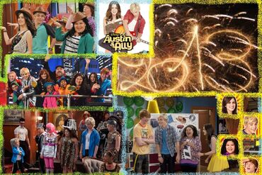 Austin&Ally Happy 2013