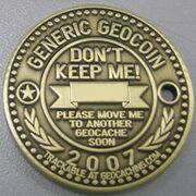 Geocoin generic 2007 AB