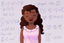 Mathematical Woman by MissLunaRose