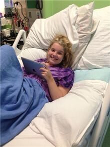 Issy Stapleton Recovering