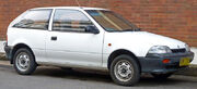 1989-1991 Suzuki Swift GA 3-door hatchback 01