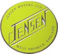 Jensen Motors badge