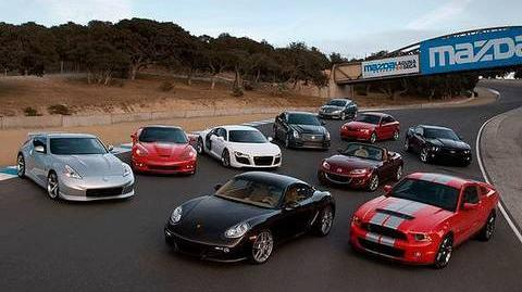 2009 Motor Trend Best Driver's Car Competition - Overview