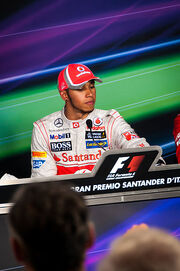 2012 Italian GP - Lewis