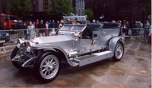 Rolls-Royce Silver Ghost at Centenary
