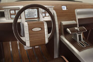 Ford Super Chief interior