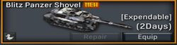 Blitz Panzer Shovel