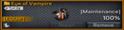 Eye of Vampire grenade
