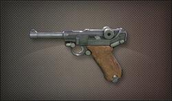 Pistol luger p80