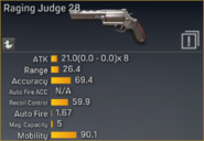 Raging Judge 28 statistics