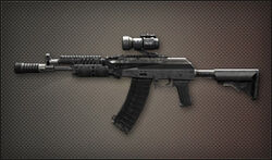 Weapon Assult Rifle AK-107bis
