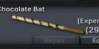 White Chocolate Bat