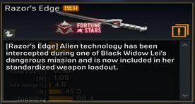 Razor's Edge description