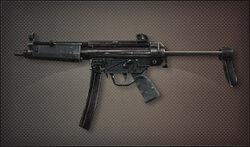 Weapon Pointman MP5A3