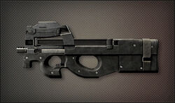 Weapon Pointman P90
