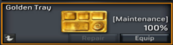 Golden Tray