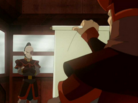 Zuko receives orders