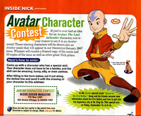 Avatar Character Contest