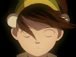 Toph without eyes