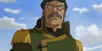 Ba Sing Se airship captain