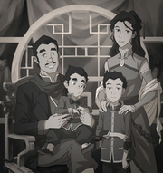 Mako and Bolin's family picture