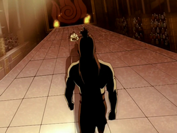 Zuko begging his father
