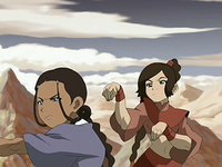 Ty Lee paralyzes Katara