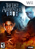 The Last Airbender video game cover