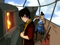 Awkward Sokka and Zuko
