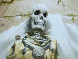 Gyatso's corpse