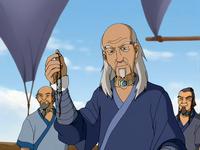 Pakku holds vial with spirit water