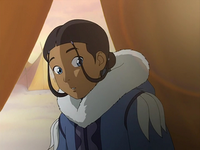 Intrigued Katara
