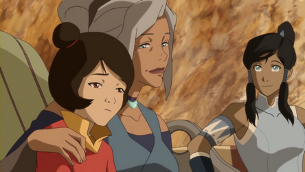 File:Kya, Jinora, and Korra.png