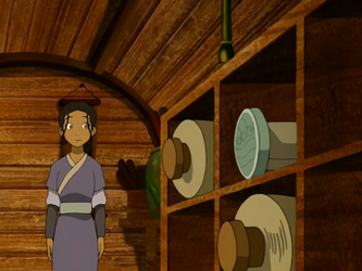 File:Katara spots a waterbending scroll.png