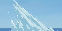 Iceberg spike