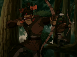 Yuyan Archers in the trees