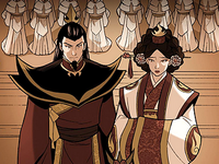 Ozai and Ursa's wedding