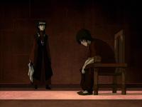 Mai confronting Zuko