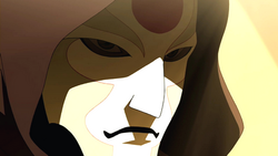 Amon close-up