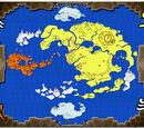 Kaart van de Wereld van Avatar