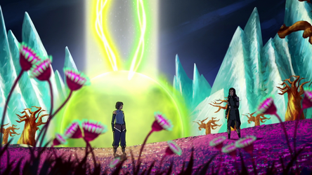 File:Korra and Kuvira in the Spirit World.png