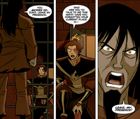 Ozai sickened by Zuko