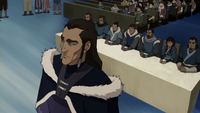 Unalaq testifying