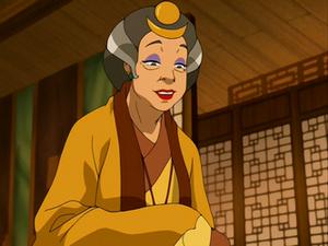 Aunt Wu welcomes Team Avatar
