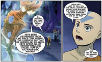 Aang talks about Koh