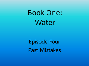 4 past mistakes