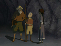 Fisherman thanking Aang
