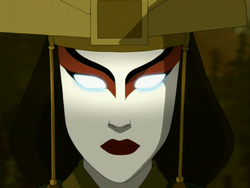 Kyoshi in the Avatar State