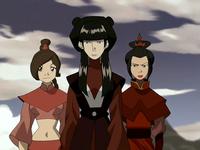 Mai, Ty Lee, and Azula