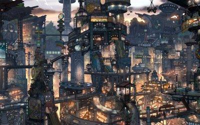 File:Anime city win7 theme by saturdaysx-d303b37.jpg